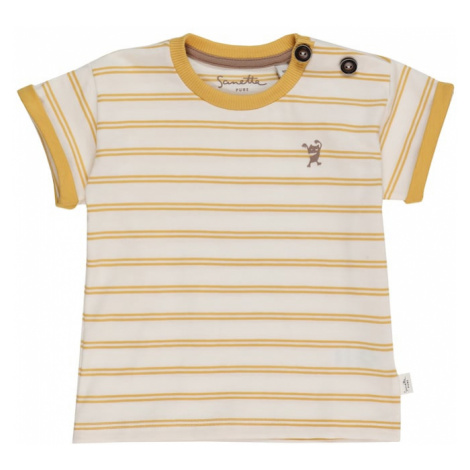 Sanetta Pure Tričko  biela / žltá
