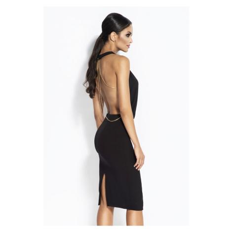 Čierne šaty Bayon Dursi