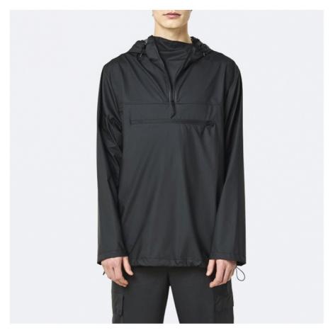 Rains Ultralight Zip Anorak 1828 BLACK