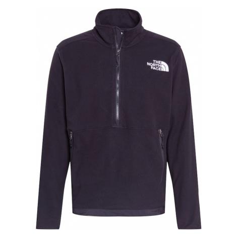 THE NORTH FACE Športový sveter 'ICE FLOE'  čierna / biela