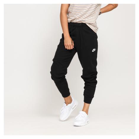 Nike W NSW Essential Pant Tight Fleece čierne