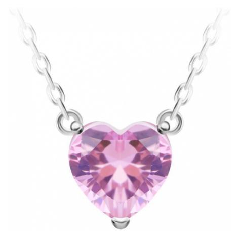 Preciosa Strieborný náhrdelník Cher 69