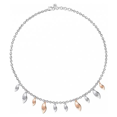Morellato Strieborný náhrdelník Foglia SAKH49
