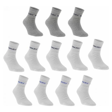 Donnay Quarter Socks 12 Pack Mens