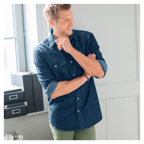 Blancheporte Džínsová košeľa denim