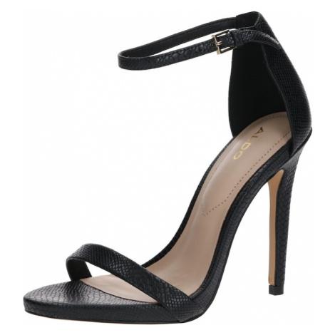 ALDO Remienkové sandále 'CARAA'  čierna