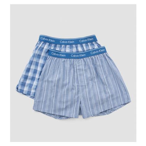 Calvin Klein Trenírky 2 balenie - modrá