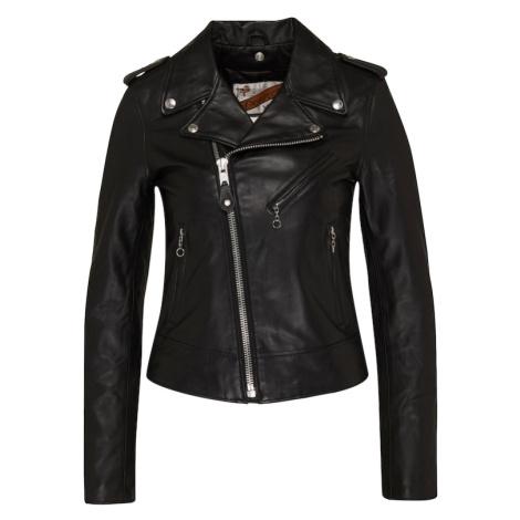 Schott NYC Prechodná bunda 'LCW1601D'  čierna