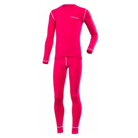 Klimatex ROKI ružová - Set detského funkčného spodného prádla