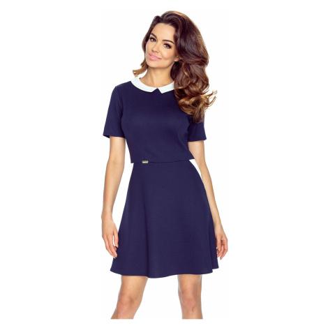Tmavomodré šaty Carla Bergamo