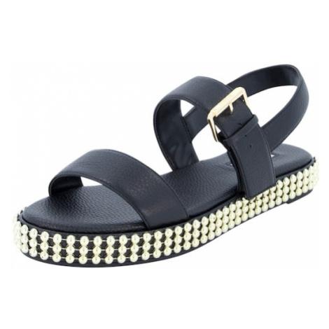 Dune LONDON Remienkové sandále 'LYSS'  čierna