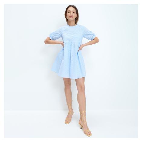 Mohito - Šaty babydoll - Modrá