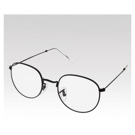 Číre okuliare Lucca čierne