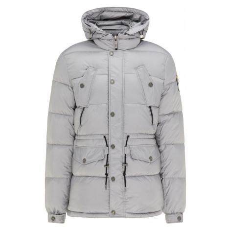 MO Zimná bunda  svetlosivá