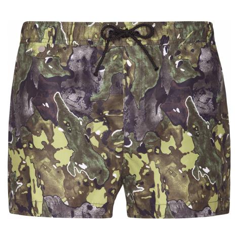Pánske krátke nohavice Pietro Filipi hnedá