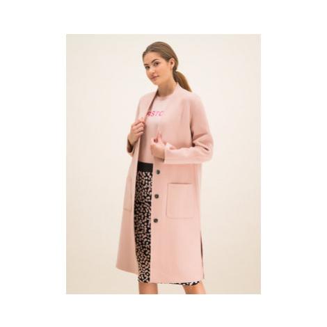 Laurèl Prechodný kabát 91001 Ružová Regular Fit Laurel