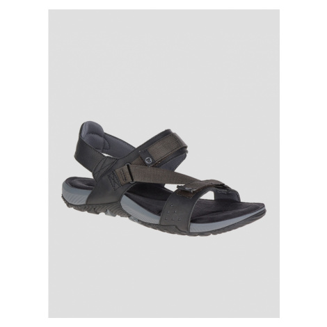 Terrant Strap Outdoor sandále Merrell Čierna