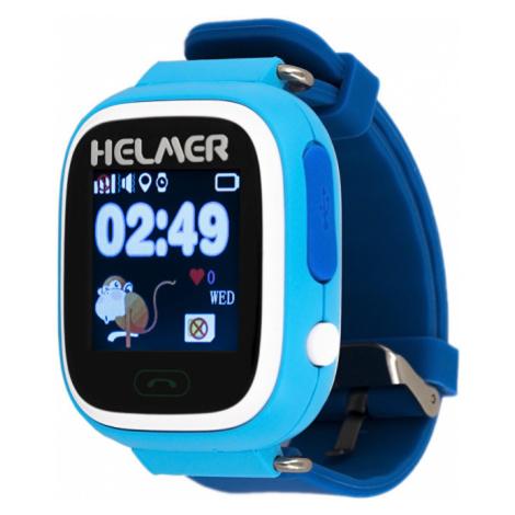 Helmer Chytré dotykové hodinky s GPS lokátorem LK modré