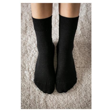 Barefoot ponožky - čierne 35-38