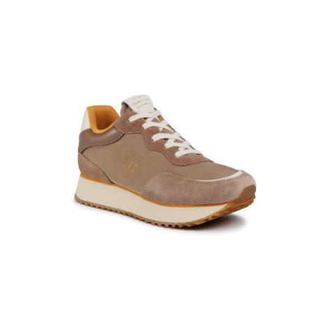 Gant Sneakersy Bevinda 21533838 Hnedá