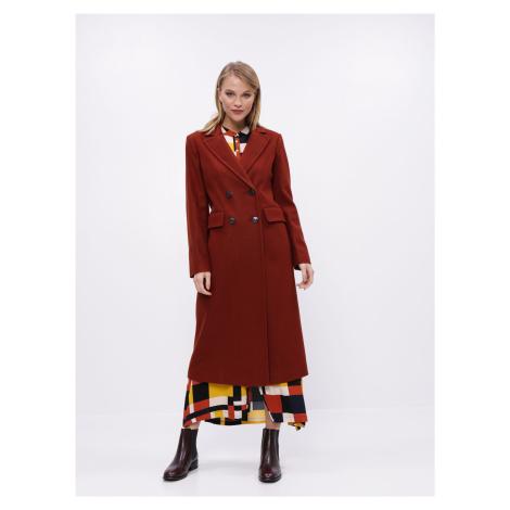 Orieškový kabát Dorothy Perkins