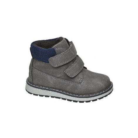 Sivá členková obuv Bobbi Shoes Bobbi-Shoes