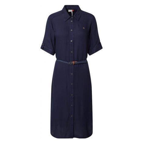 Ragwear Košeľové šaty 'ADAMITA'  námornícka modrá