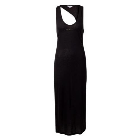 Calvin Klein Swimwear Plážové šaty  čierna