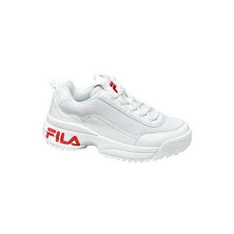 Biele chunky tenisky Fila