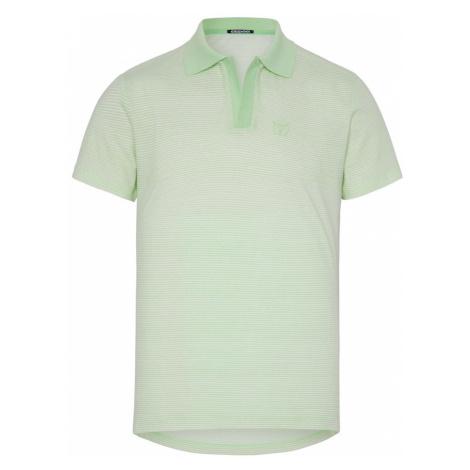 CHIEMSEE Tričko  biela / svetlozelená