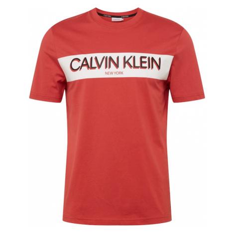 Calvin Klein Tričko  červená
