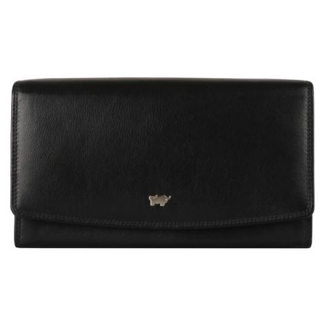 Braun Büffel Dámska kožená peňaženka Golf 2.0 90455-051 - černá
