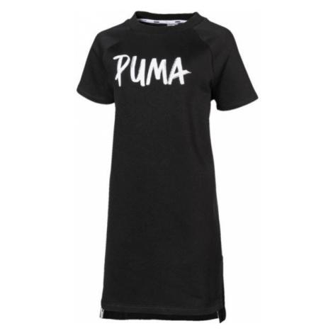 Puma ALPHA DRESS FL G čierna - Dievčenské šaty