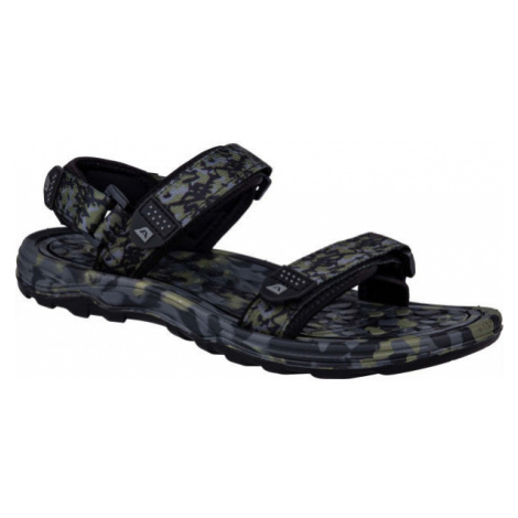ALPINE PRO CALOS čierna - Pánske sandále