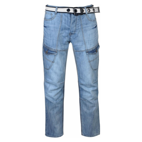 No Fear Belted Cargo Jeans pánske