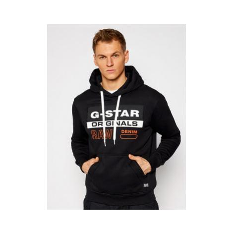 G-Star Raw Mikina Ashor D18239-A971-6484 Čierna Regular Fit