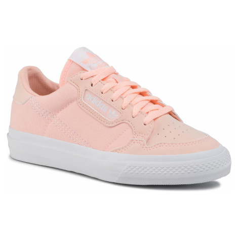 Topánky adidas - Continental Vulc J EF9450 Cleora/Ftwwht/Cleora