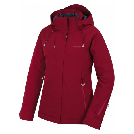 Women's ski jacket Nopi L burgundy Husky