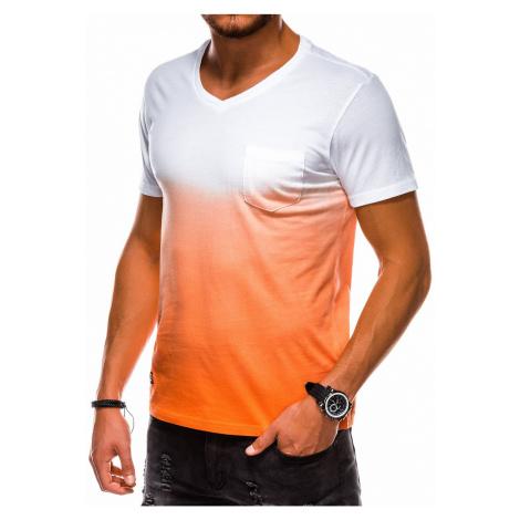 Pánske tričko bez potlače Kezie oranžová