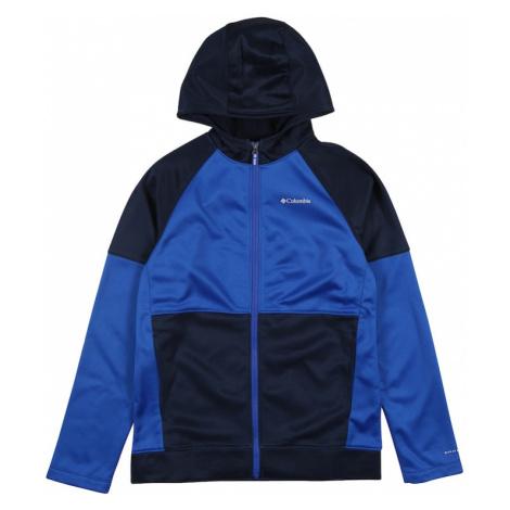 COLUMBIA Športová mikina so zipsom 'Everyday Easy™'  modrá / tmavomodrá