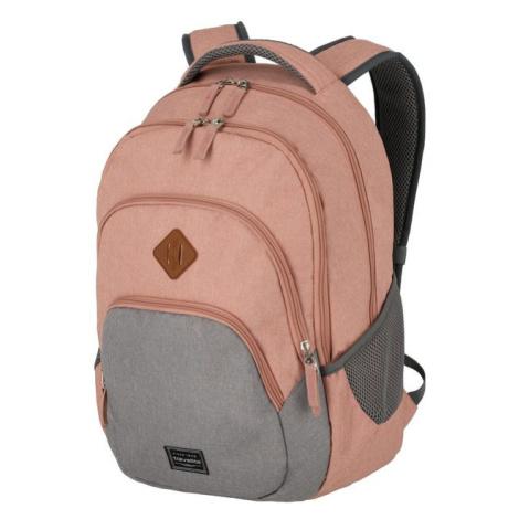 Travelite Mestský batoh Basics Melange Rose/grey 22 l