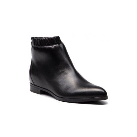 Gino Rossi Členková obuv Alba DBI113-S48-0388-9900-0 Čierna