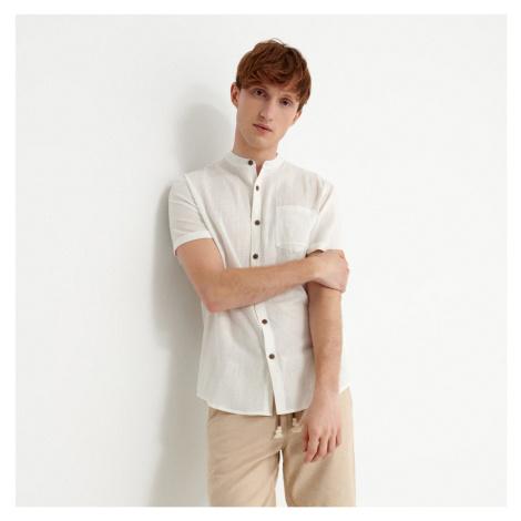 House - Košeľa s krátkym rukávom - Biela