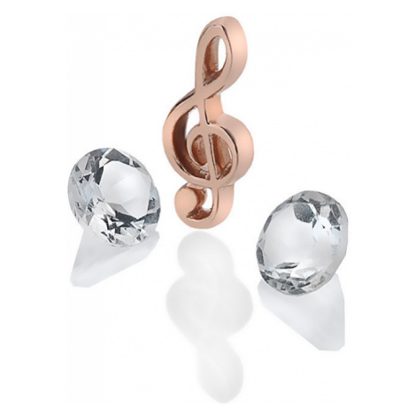 Hot Diamonds Element husľový kľúč s TOPAZ Anais AC123