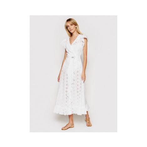 Melissa Odabash Plážové šaty Brianna CR Biela Regular Fit