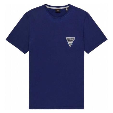 O'Neill LM TRIANGLE T-SHIRT tmavo modrá - Pánske tričko