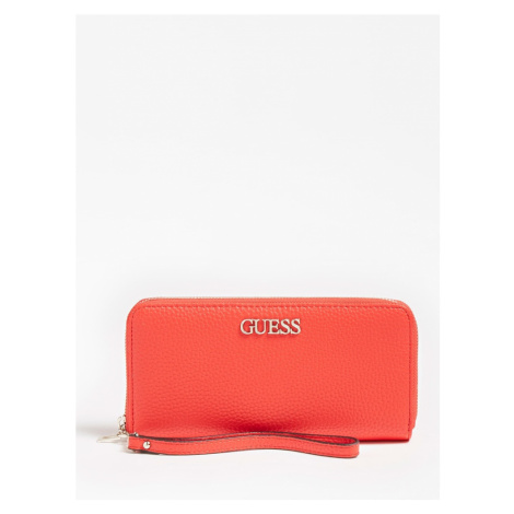 GUESS Peňaženka 'Alby'  červená
