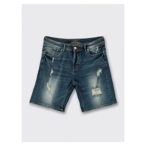 Alcott Dark Blue Denim Shorts