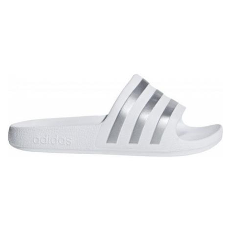 adidas ADILETTE AQUA K biela - Detské šľapky