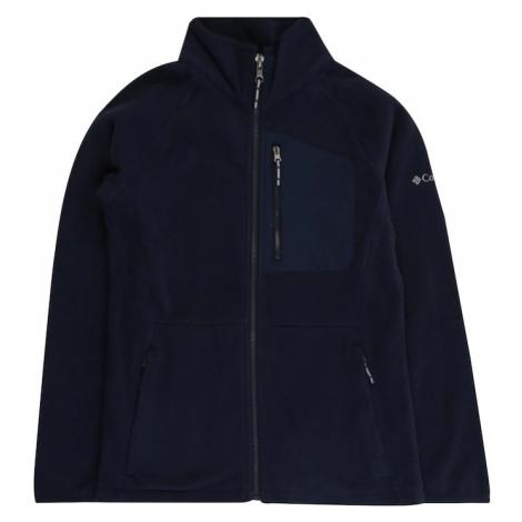 COLUMBIA Funkčná flisová bunda 'Fast Trek™ III'  námornícka modrá / biela